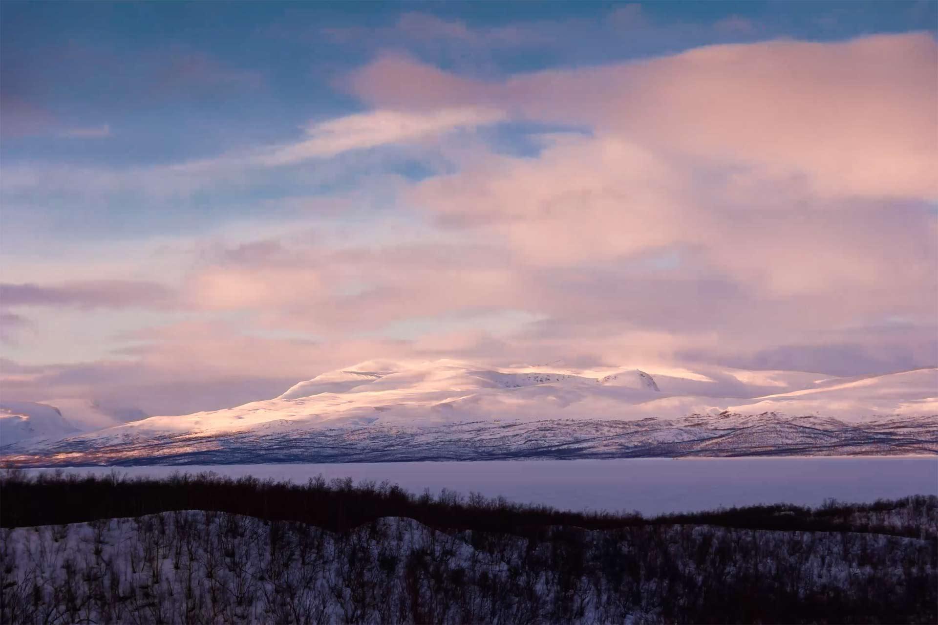 alps at dawn