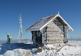 weather station in artic conditions