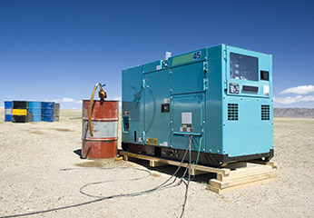 diesel-powered generator